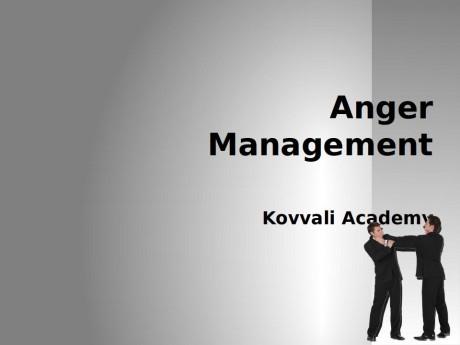 Anger Management.