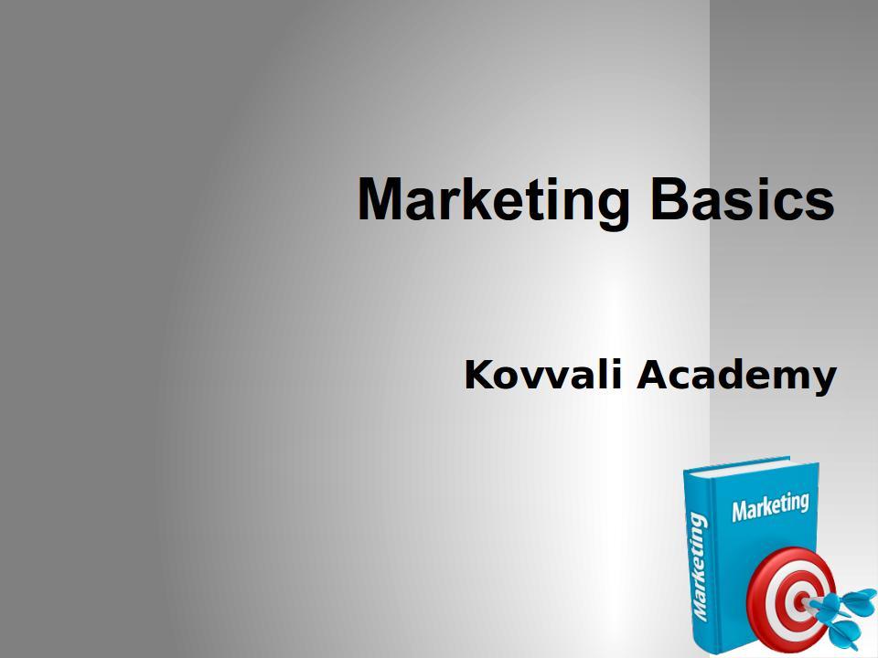 Marketing-Basics
